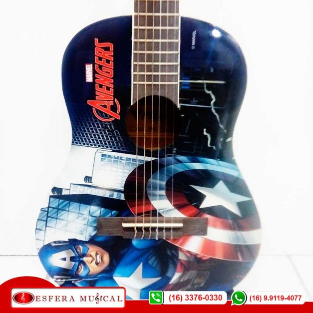 Violão PHX Capitão América